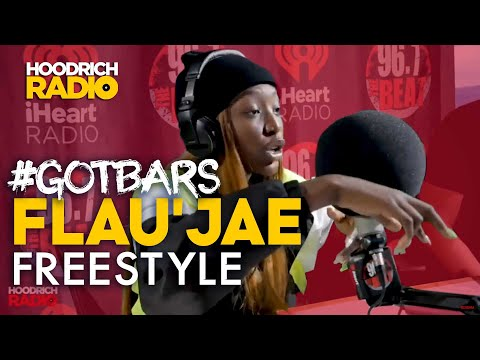 DJ Scream - Got Bars: Flau'jae Exclusive Freestyle with DJ Scream on Hoodrich Radio