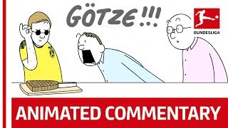 Crazy Bundesliga Football Commentary, Animated! – Powered by Nick Murray Willis