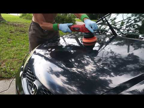 P4 Sap Covered Honda-Polishing with Drive Auto Appearance Victory Nano Polish/Seal - One Step