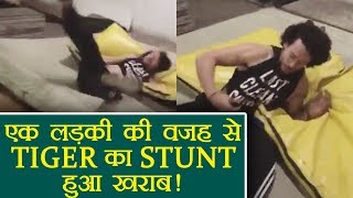 Tiger Shroff STUNT Goes WRONG, Blames A Girl; Watch Video | FilmiBeat