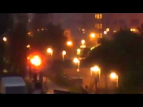 Riots in Sweden - Explosions,Fires and civil unrest