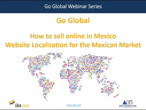 Go Global Webinar: How to sell online in Mexico