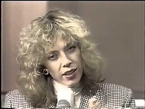 Marília Gabriela entrevistada por Osmar Santos - Osmar Santos Show , TV Manchete 1989