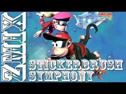 ZMiX - Stickerbrush Symphony (Dubstep Remix) * Donkey Kong Country 2 *