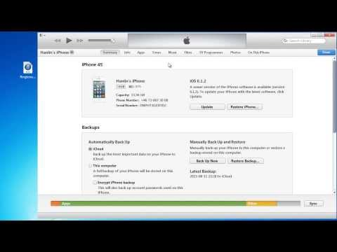 How to put ringtones to iPhone on new iTunes (2014)