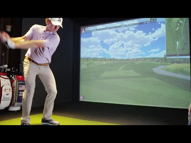 Brandt Snedeker No Rainy Days with Full Swing Simulators