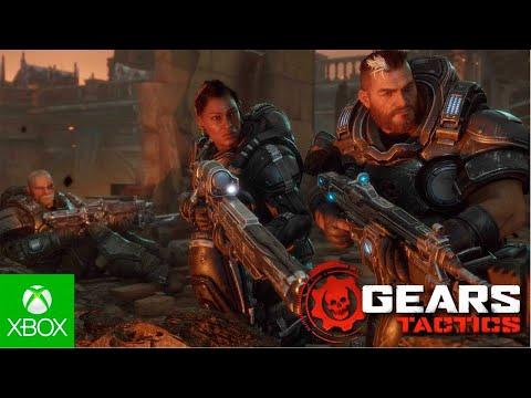 Trailer de lançamento do Gears Tactics