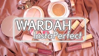 WARDAH InstaPerfect Review + Tutorial + Swatches | suhaysalim