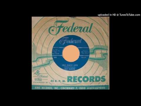 BOBBY VALENTINE: Cold Hearted Lover (Federal Records) 1959