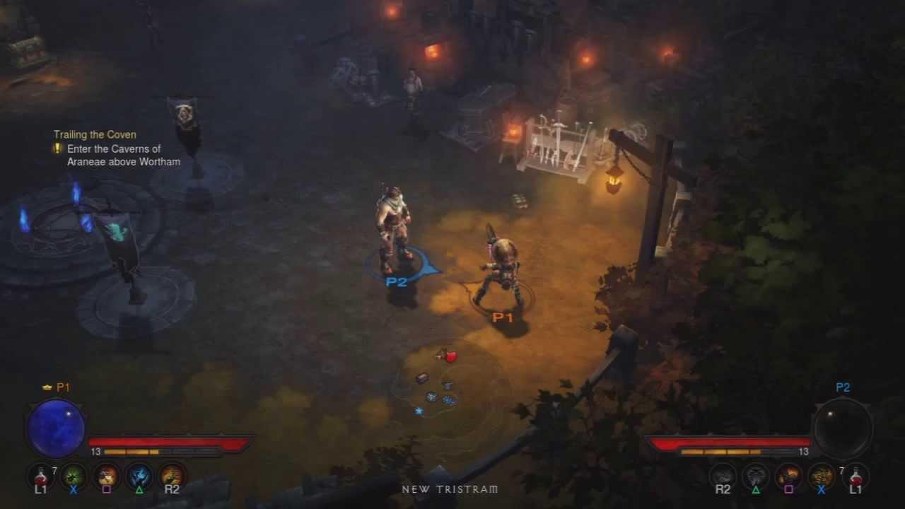 Diablo 3 on Ps3 : How to play offline Co-op - YouTube