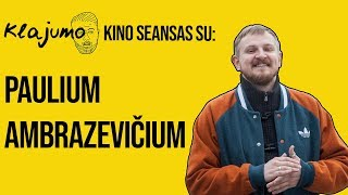 Klajumo kino seansas: Diskusija apie Bohemian Rhapsody su Paulium Ambrazevičium