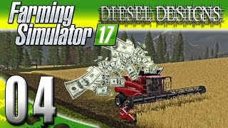 Farming Simulator 2017 Gameplay :EP4: Making Money & Spending it Fast! (PC HD Goldcrest Valley)
