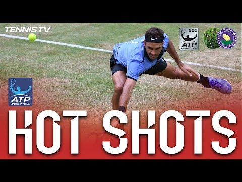 Federer Quick Hands Hot Shot Halle 2017