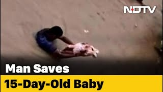 On Camera, Bengaluru Men Save Children As Heavy Rain Floods Streets