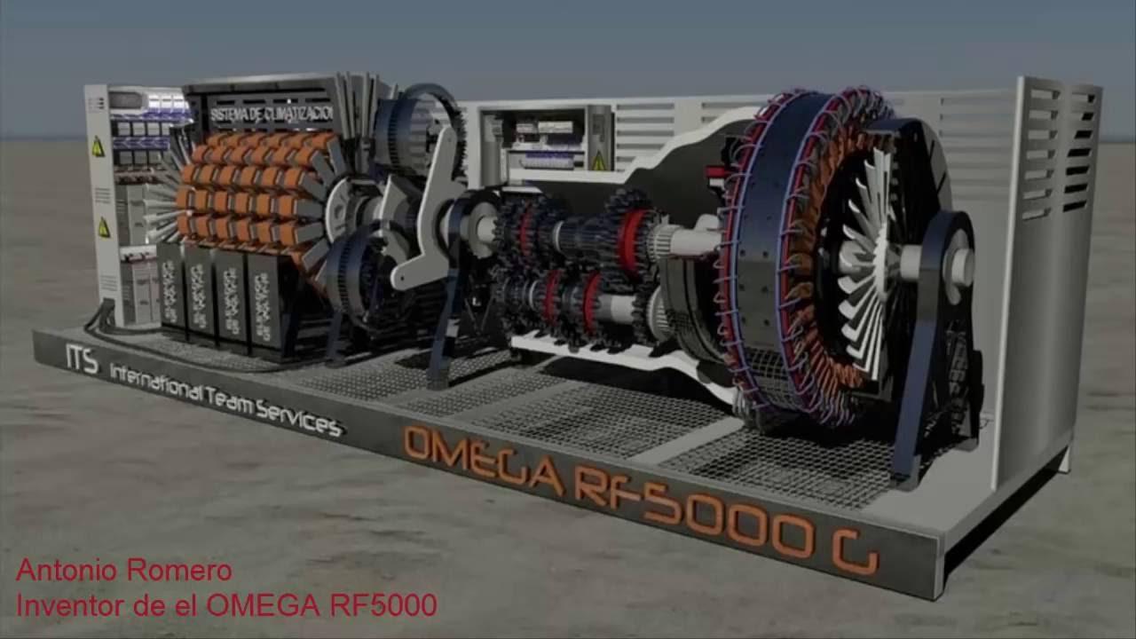 Creador de el generador electromagn tico omega rf5000 - Generador de luz ...
