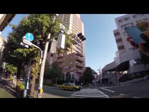 Hyperlapse Cycling in Tokyo: Yoyogi Shibuya _ Minato-ku