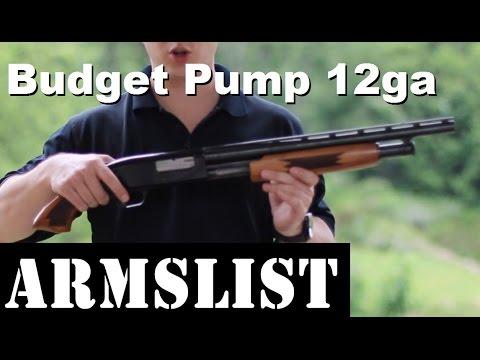 Bargain Basement 12 Gauge Pump Shotgun