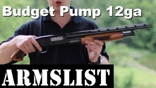 Bargain Basement 12 Gauge Pump Shotgun