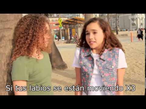 Meghan Trainor Lips Are Movin - MattyBRaps & The Haschak Sisters !Letra En Español!