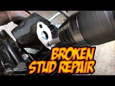 Extracting a broken stud / extract a broken bolt / fix broken screw