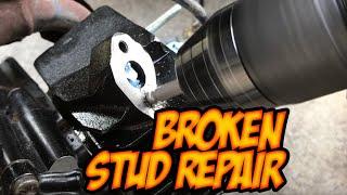 Extraer un perno roto de dos formas / extraer un perno roto / reparar un tornillo roto