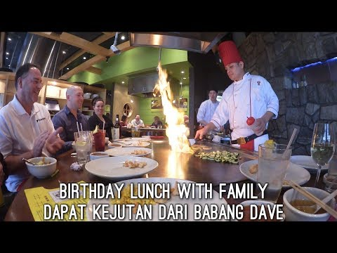 BIRTHDAY LUNCH WITH FAMILY | PELAYANNYA ORG INDO | UL-TAH PALING SEDIH