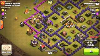 Clash of Clans Let's Play Ep.31:DESTRUCTION+Awesome Raid+Upgrades!