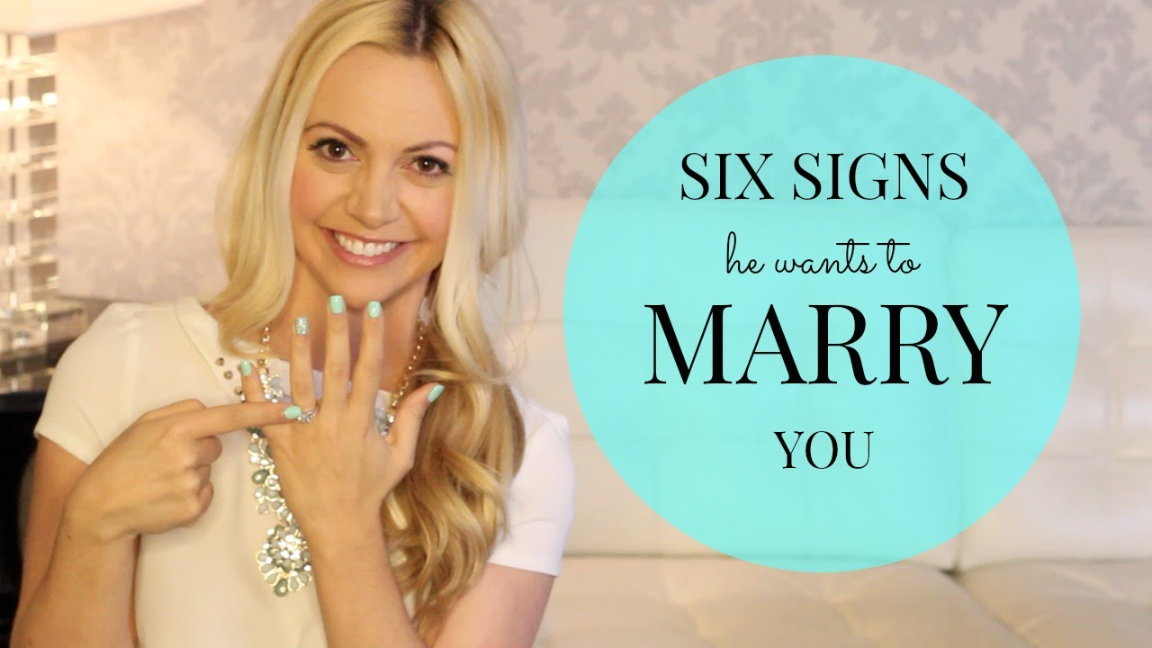 7 Signs He Wants To Marry You | American Dating Society