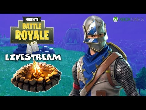 Campfire Stories - Fortnite Battle Royale Gameplay - Xbox One X - Livestream