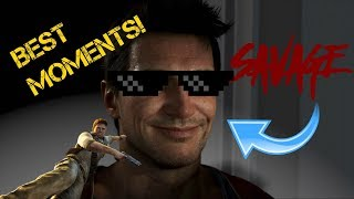 Nathan Drake's Most Savage Moments!
