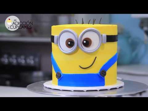 Cake de MINION ENORME con Dani Flowers - adorable pastel fácil de hacer