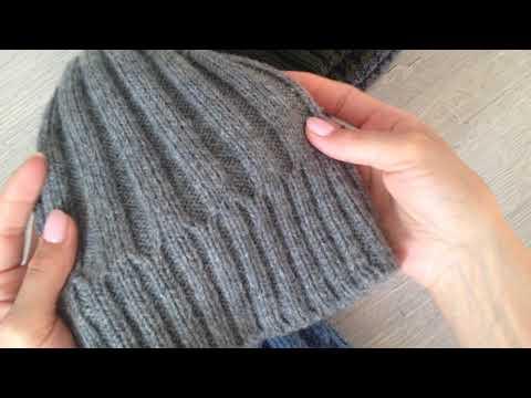 Связать шапку спицами для мужчины новые модели