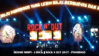 Video LIVE KONSER J ROCK - MERAIH MIMPI || KONSER ROCK N DUT 2017 - PONOROGO download MP3, 3GP, MP4, WEBM, AVI, FLV Oktober 2019