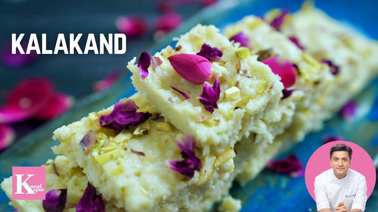 Kalakand Recipe | Kalakand Kaise Banate Hain | Diwali Sweets | Milk Cake Recipe | Chef Kunal Kapur