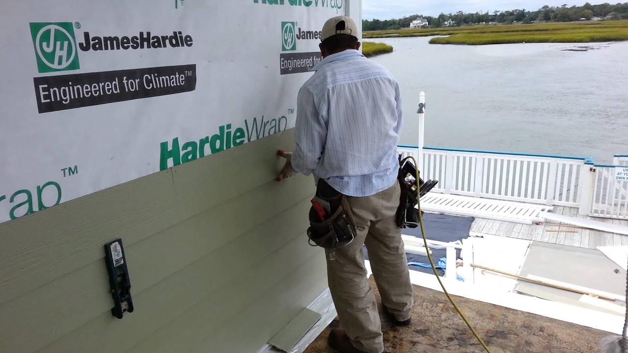 Hardiplank Siding Installation Youtube