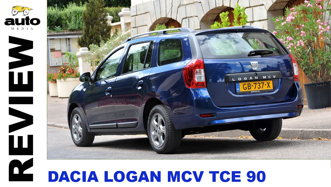 dacia logan mcv tce 90 review 2015 youtube. Black Bedroom Furniture Sets. Home Design Ideas