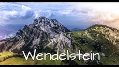 Wendelstein by drone 4K