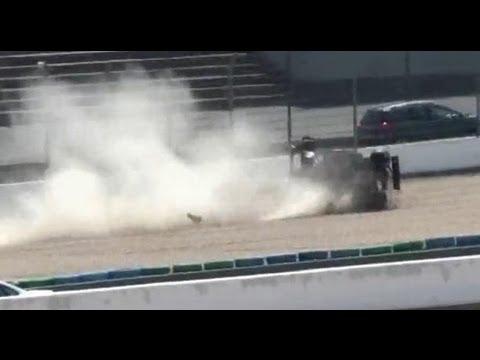 Jammal's big flip, European F3 2010 at Magny-Cours