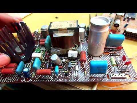 видео: №205. Ремонт телевизора thomson.  Курсы телемастеров. chassis tx807.