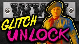 (EASY GLITCH) Unlock 'The Survivor' Secret Character IN ONE GAME - WW2 Zombies Glitch