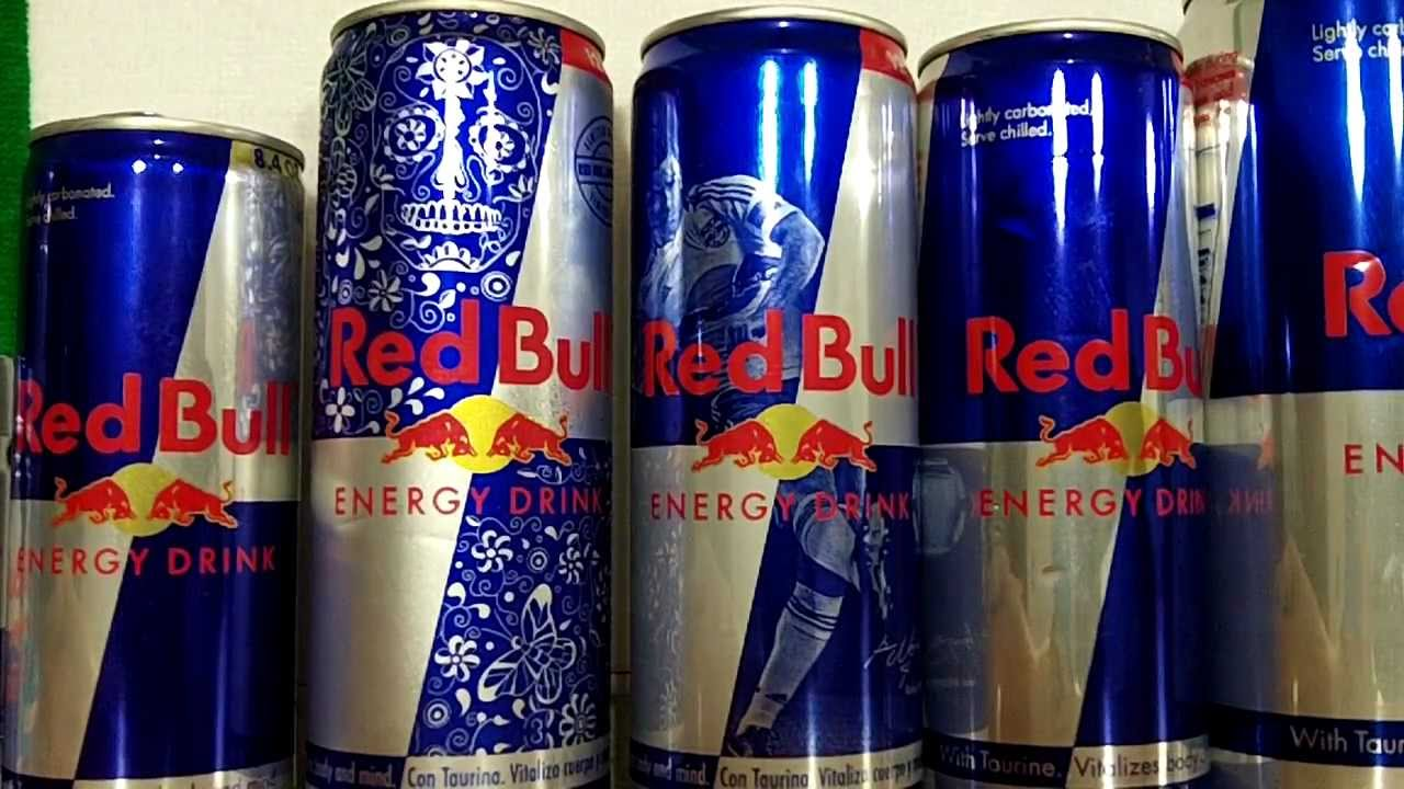 red bull energy drink limited edition latagrafica. Black Bedroom Furniture Sets. Home Design Ideas