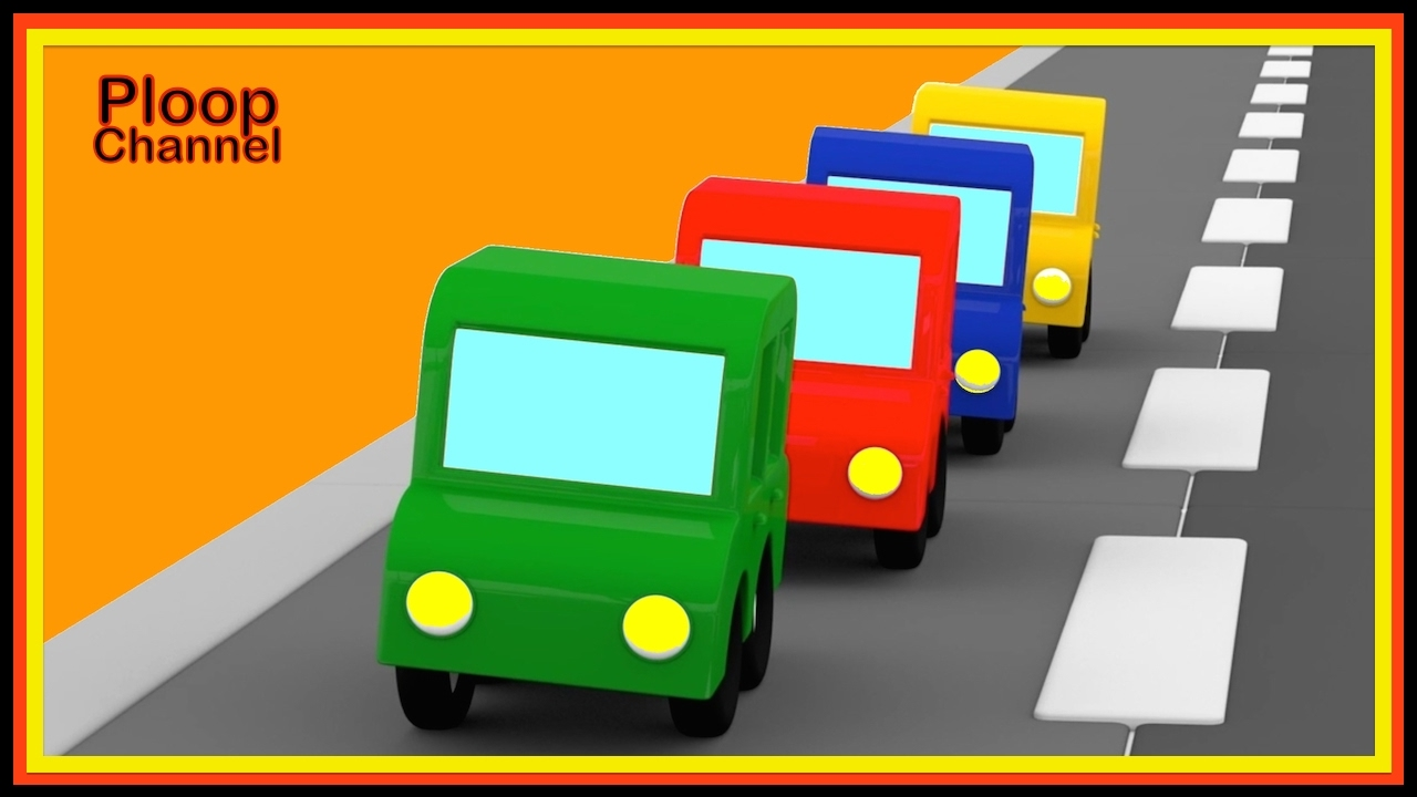 cartoon cars emergency trucks chase cartoons for children