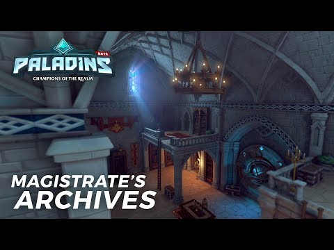 Paladins - Map Reveal - Magistrate's Archives
