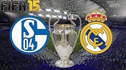 FC SCHALKE 04 gegen REAL MADRID (CHAMPIONS LEAGUE Achtelfinale Hinspiel)