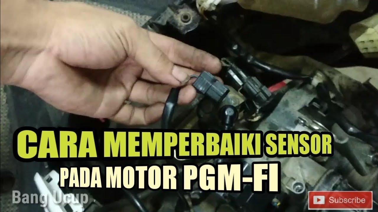 Cara memperbaiki sensor tps mobil,cara memperbaiki sensor di motor pgm fi bangucup