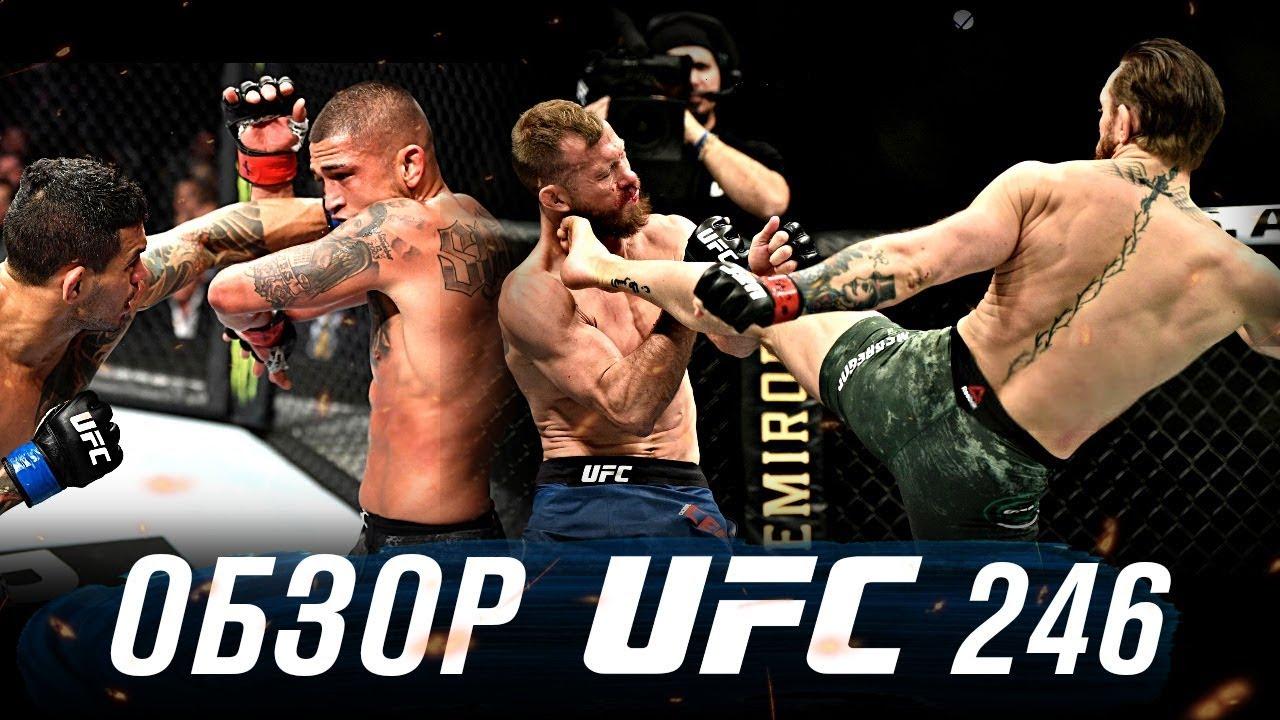 Обзор турнира UFC 246