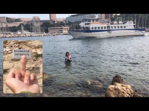 Vlog - Baignade au vieux port