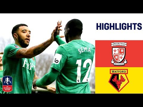 Watford Prove Too Strong For Non-League Woking   Woking 0-2 Watford   Emirates FA Cup 18/19