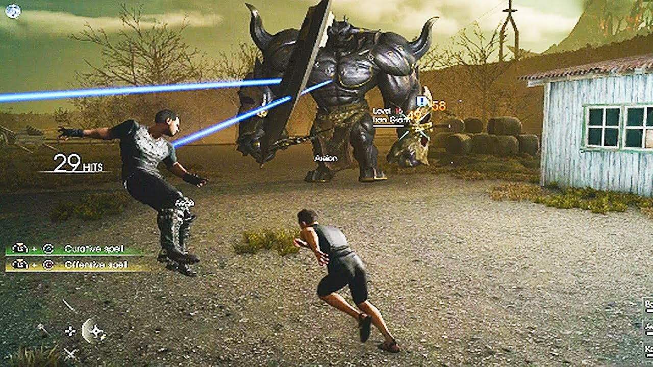 Final Fantasy 15 MULTIPLAYER Gameplay Final Fantasy XV