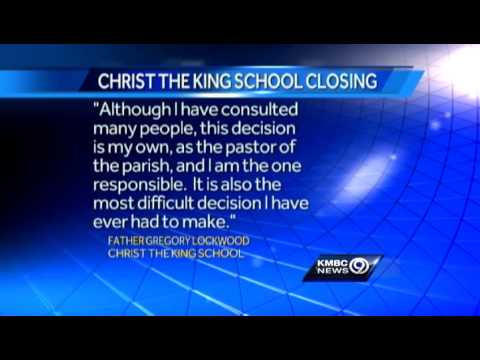Christ the King school to close in June